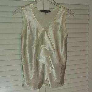 5 for$20! Anne Klein White Sleeveless Blouse
